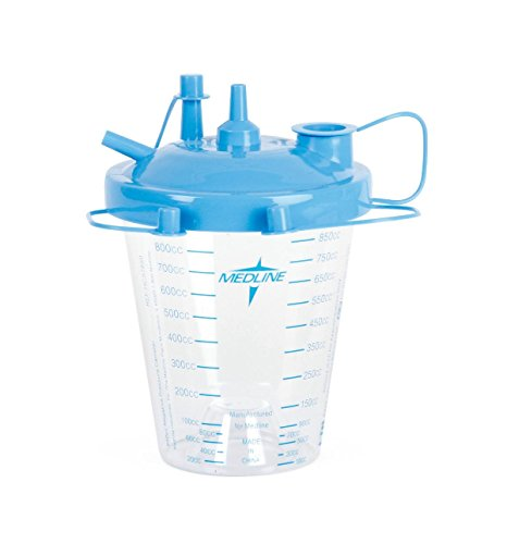 (Medline Disposable Suction Canisters and Kits with Float Lids, Hcs7850, 1 Pound)