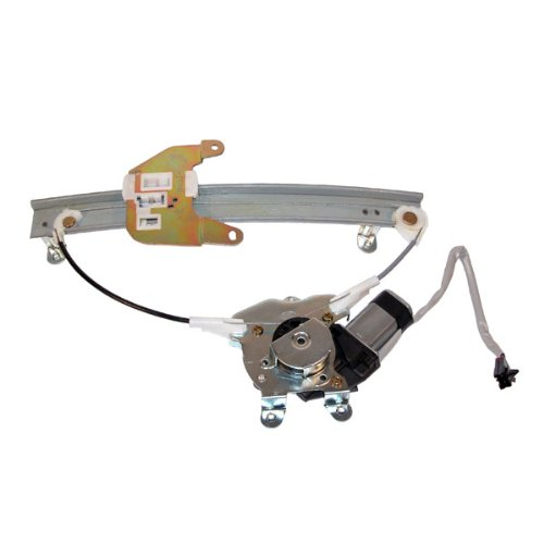 95-99 Maxima i30 Rear Power Window Regulator with Motor Right