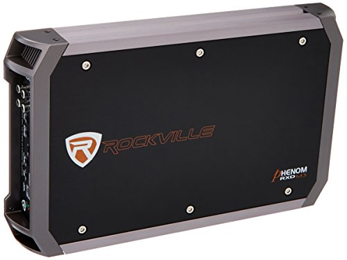 Rockville RXD-M3 4000 Watt/2000w RMS Mono Class D 1 Ohm Amplifier Car Stereo Amp