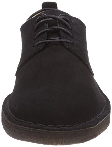 Clarks Originals London Herren Desert Boots Schwarz (Black Sde)