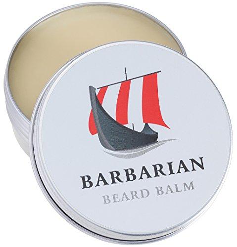 Barbarian Beard Balm | 60g | für die perfekte Bartpflege | Unser Bartbalsam vereint Styling + Pflege für einen geschmeidigen weichen Bart mit Arganöl