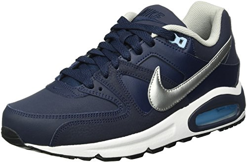 Metallic Bluecap 401 NIKE da White Uomo Command Blu Scarpe Corsa Max Silver Air Leather Obsidian xqZv7waqU