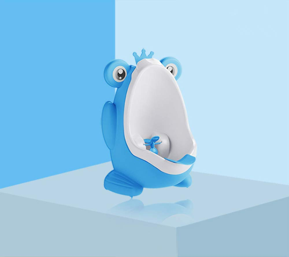 Blau Kinder-Urinal-Urinal f/ür Jungen im Frosch-Form f/ür Baby-Pipi Pissoir-Trainings-reizenden Baby-Frosch-Trainings-Urinal-Kleinkind mit Befestigungen