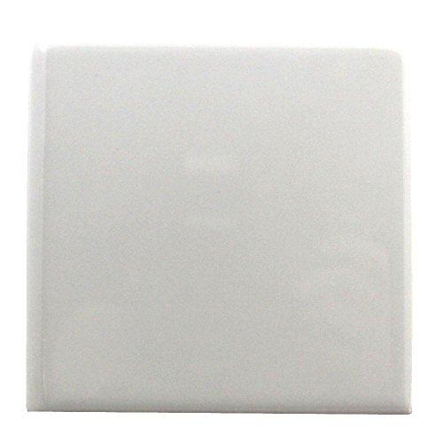 /4 in. x 4-1/4 in. Glazed Ceramic Bullnose Wall Tile (Ceramic Tile Bullnose)