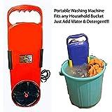 Kartsasta Multi-Utility Plastic Smart Wash Portable Handy Washing Machine , Medium, Multicolour