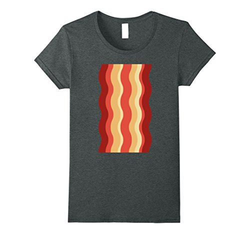 Womens Bacon Shirt Funny DIY Halloween Costume Ideas Deviled Eggs Small Dark Heather - Ideas For Halloween Costumes Diy