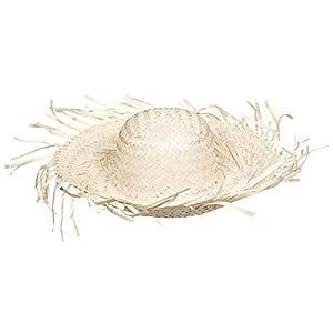 - 41vn5acVC4L - amscan Beach Party Hat, 4″ x 18″ x 18″