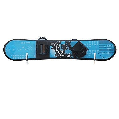 YYST Snowboard Storage Rack Display Rough Wall Mounted Storage Rack Fit most snowboards (No thicker than 30MM)