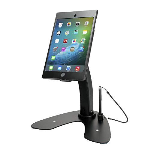 CTA Digital CTA Digital Dual Security Kiosk Stand with Locking Case for iPad mini 1-5, Black...