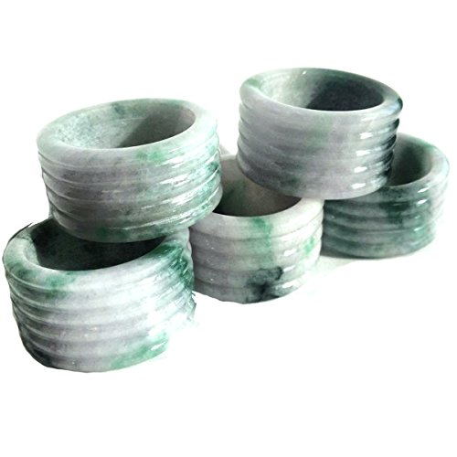 e Ring 14 mm Wide Thumb Ring Extra Size ฺ12.25 US BIGJR12.25 (Imperial Jade Jewelry)