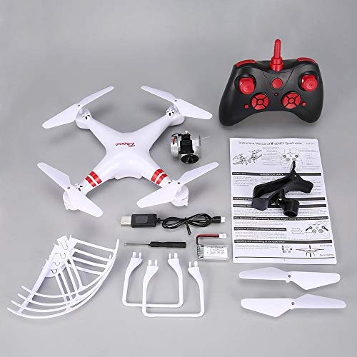 (RC Helicopters - WiFi FPV Wide Angle 720P/1080P Camera Selfie RC Drone Altitude Hold Headless Mode 3D Flips One Key Return Quadcopter - by TINIX - 1 PCs)