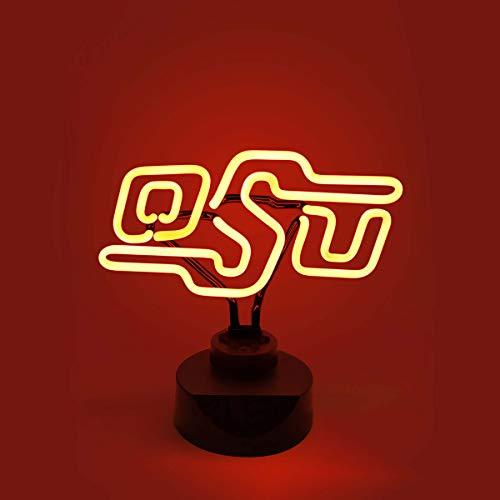 - Collegiate Neons NCAA Oklahoma State Cowboys Neon Light, Medium, Orange
