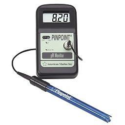 American Marine PINPOINT pH Monitor + Calibration Fluids