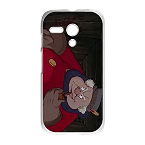 Motorola G Cell Phone Case White Disney Pinocchio Character The Coachman as a gift T5581299
