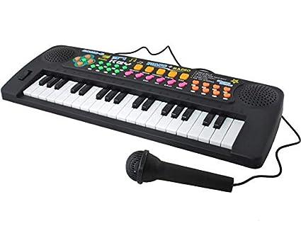ISO TRADE Piano electrónico para niños - Teclado electrónico para Aprender 37 Teclas 6722