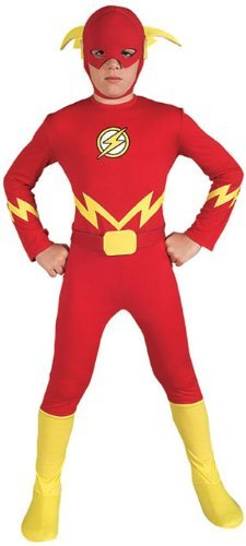 Traje Liga de la Justicia El flash del Niño, Pequeño Color ...