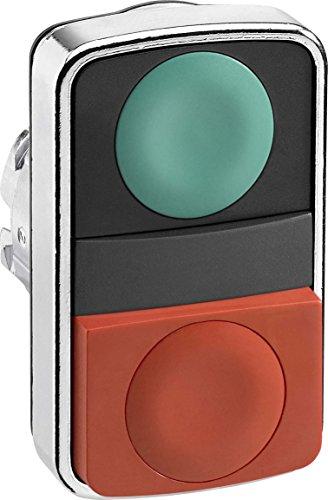 Non-Illum Push Button, 2, 1 Flush, ()