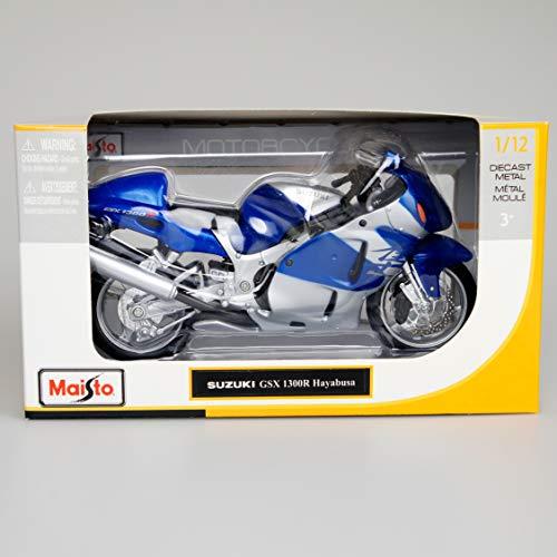 [해외]【 스즈키 】 112 GSX 1300R Suzuki Hayabusa (Blue) Maisto 내 자HAYABUSA송 골 매 / [Suzuki] 112 GSX Suzuki 1300R Hayabusa (Blue) Maisto MystHayabusaarFalcon