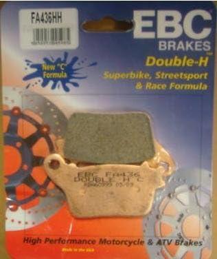 EBC Double-H Sintered Rear Brake Pads FA436HH