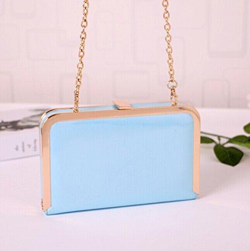 Clutch Evening Purse Blue Shoulder Bag Crossbody Handbag Women for rrSdW