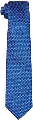Park Avenue Men's Synthetic Necktie (PZNX17982-B6_Dark Blue_150)
