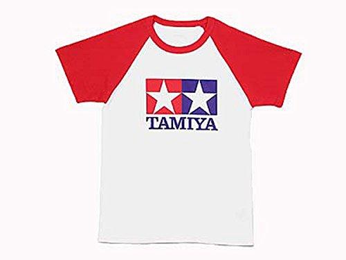 艦隊シフト事故タミヤ TAMIYA [66729] ラグランTシャツ半袖(赤)S