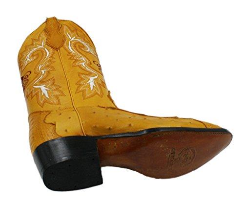 Heren Echte Koeienhuid Struisvogel En Krokodil Print Lederen J Teen Cowboylaarzen Mango