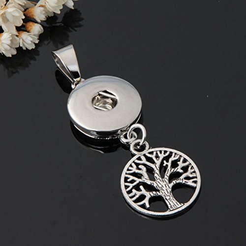 2017 New Crystal Alloy Pendant for Fit Noosa Necklace Snap Chunk Button A109 - Frog Chime Button