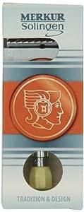 Merkur 510.001 - Maquinilla de afeitar regulable (mango largo), diseo cromado