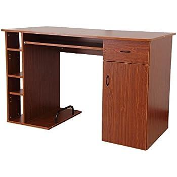 Amazon Com Homcom Small Home Office Dorm Computer Desk