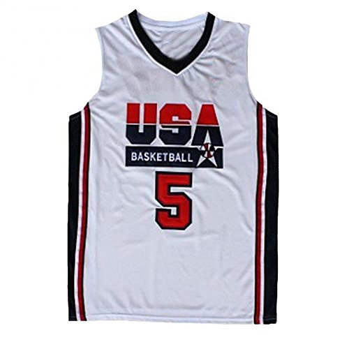 No.5 Robinson Jersey Basketball Jersey Sports Embroidery, used for sale  Delivered anywhere in USA