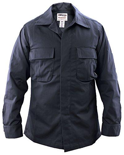 - Elbeco Tactical Duty Shirt-JAC Sateen Navy Blue-36-L