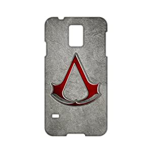 KJHI Assassin's Creed 3D Phone Case for Samsung Galaxy S5