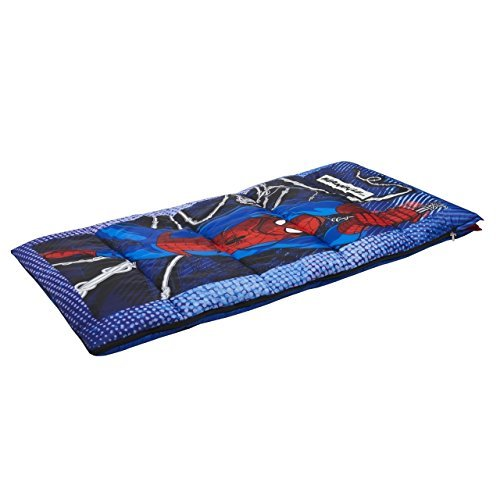 Exxel Spiderman Camping Sleeping Bag Multicolor [並行輸入品] B075K8JYYN