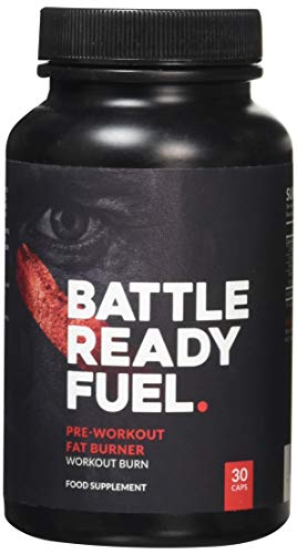 Battle Ready Fuel Pre-Workout Fat Burner Thermogenic Nutritional Supplement (30 Capsules)