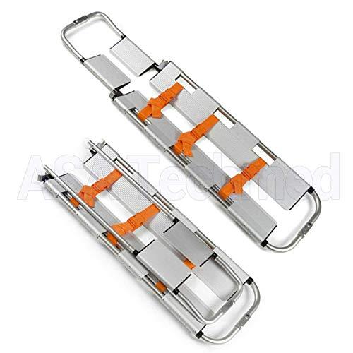 EMT Backboard Spine Board Stretcher Immobilization Kit Lightweight Scoop Type Patient Transfer