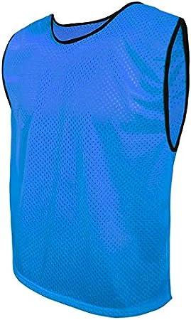 Basket Molti Colori e Taglie Set di 6 Pezzi Reversible Calcetto per Bambini SPORTBIBS 6X Pettorina bilaterale Double Face Riutilizzabile da Allanamento Bavaglini da Calcio Ragazzi e Adulti