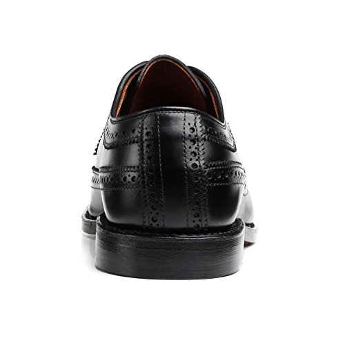 Allen Edmonds Hombres Mcgregor Wingtips Black Custom Calf