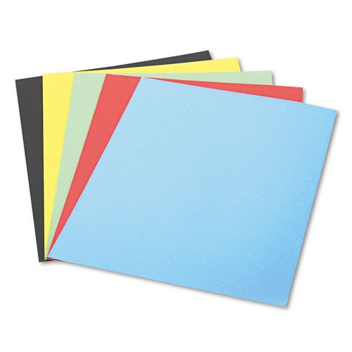 Pacon 5488-1 Railroad Board, 10 Assorted Colors by Pacon