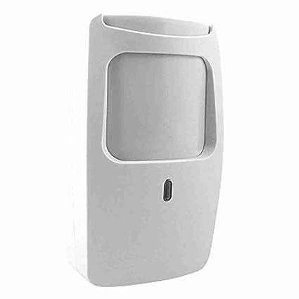 Dual Microondas Infrarrojo Digital Detector de movimiento PIR ...