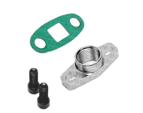 Npt Outlet (Boost Monkey Turbo Oil Drain Outlet Flange Adapter 1/2