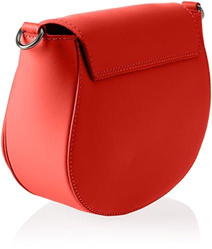 Chicca Delle 1533 Red Tracolla red Borse Rosso Borsa Donne A PxrUPpRwq