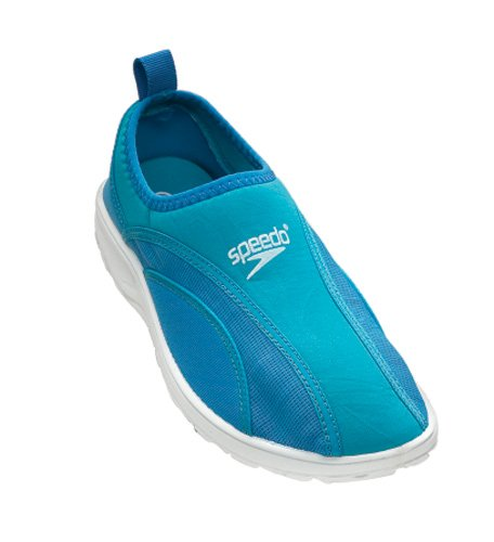 Speedo Women's Surfwalker Pro Water Shoe,Aqua/Aqua,7 M