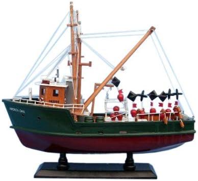 "Hampton Nautical Andrea Gail The Perfect Storm 16"" Hampton Nautical Model Ship, Fully Assembled (Not a Kit)"