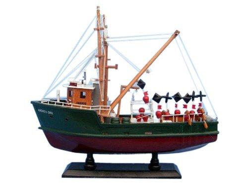 "Hampton Nautical  Andrea Gail The Perfect Storm 16"" Hampton Nautical Model Ship, Fully Assembled (Not a Kit) from Hampton Nautical"