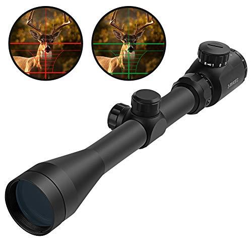OTW Tactical Rifle Scope 3-9X40 Red & Green Illuminated