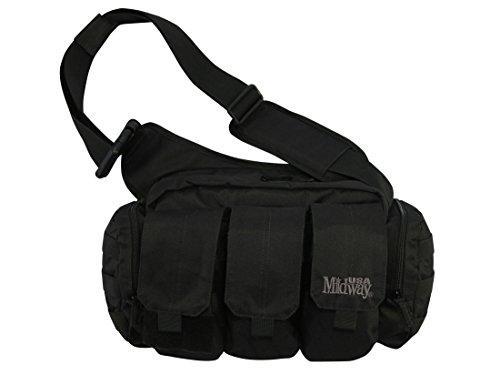 MidwayUSA AR-15 Bail Out Range Bag Black (Best Active Shooter Bag)