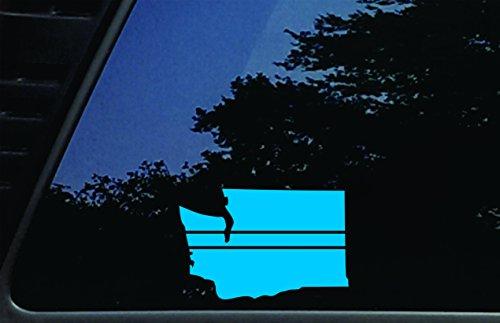 Washington State Thin Blue Line - 5 3/4