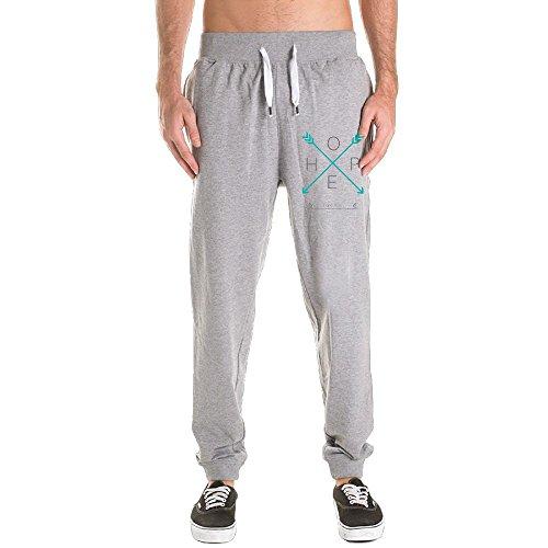 Ncjskdn Man Hope Tribe - Arrows - Fleece Jacket 100% Cotton Novelty Close Up Jogging Harem Sweatpants Large Ash