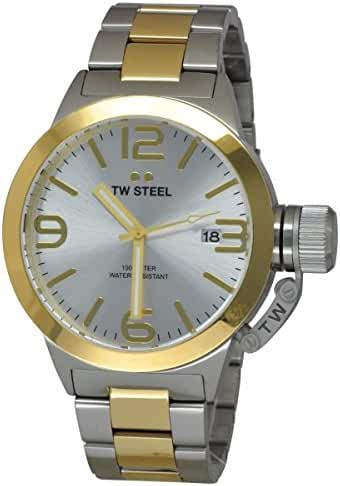 TW Steel Men's CB31 Analog Display Quartz Two Tone Watch by TW Steel